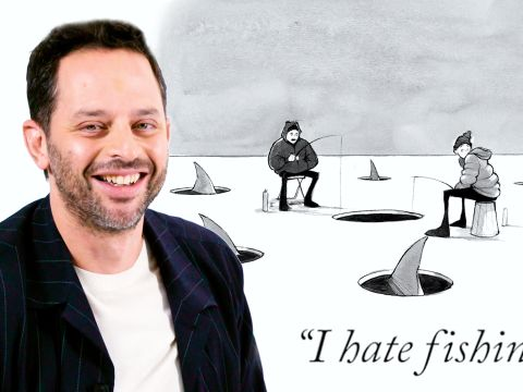 How to Write a New Yorker Cartoon Caption: Nick Kroll Edition