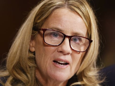 Christine Blasey Ford Testifies Against Kavanaugh