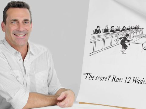 How to Write a New Yorker Cartoon Caption: Jon Hamm Edition
