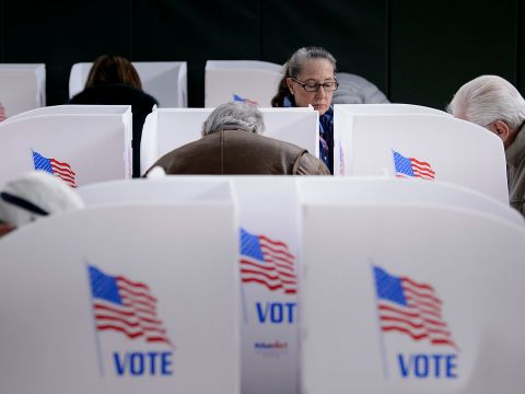 Watch American Voters Go to the Polls