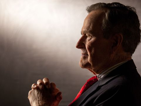 Funeral Service Held for President George H. W. Bush in Washington