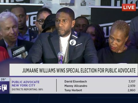 Jumaane Williams Gives His Acceptance Speech