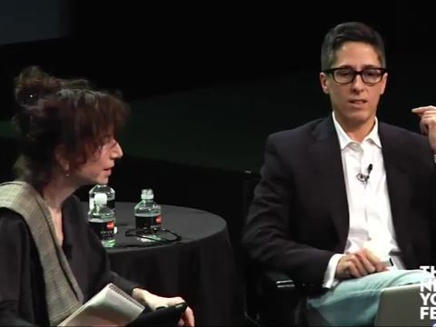 Allison Bechdel at the New Yorker Festival