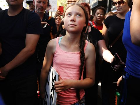 Watch Live: Greta Thunberg Leads N.Y.C. Climate-Change Protest