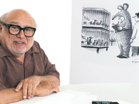 How to Write a New Yorker Cartoon Caption: Danny DeVito Edition