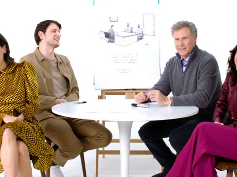 How to Write a New Yorker Cartoon Caption: Will Ferrell, Julia Louis-Dreyfus, Zach Woods, and Zoe Chao Edition