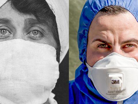 Comparing the Influenza Epidemic of 1918 to the Coronavirus