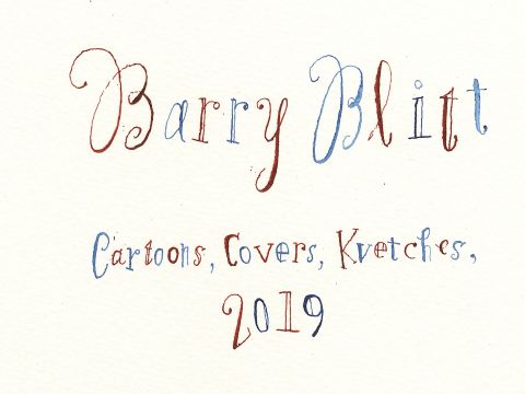 Barry Blitt's Pulitzer Prize-Winning Covers and Cartoons