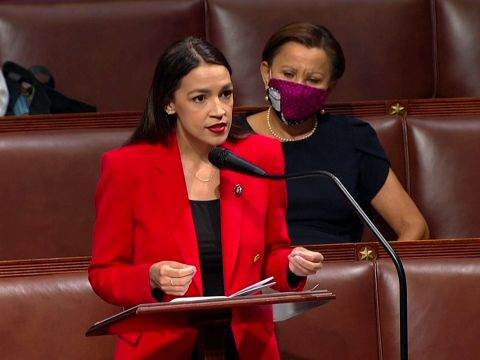 Alexandria Ocasio-Cortez Responds to Verbal Abuse by Ted Yoho