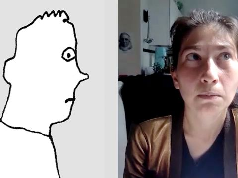 Liana Finck Demonstrates How to Draw Feelings
