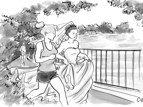 A New Yorker Cartoonist on Why Weddings Make Great Jokes