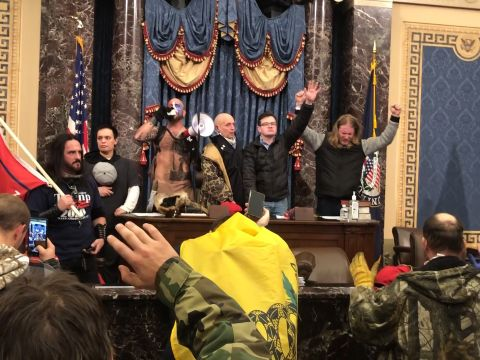 A Reporter's Video from Inside the Capitol Siege
