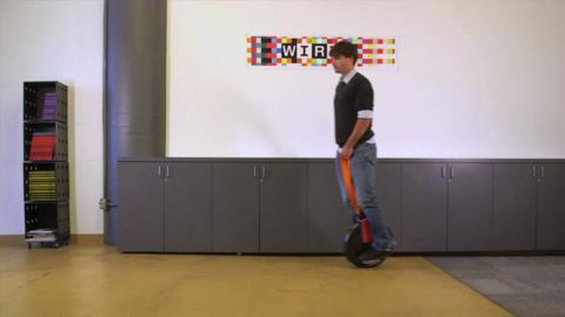 Most Dangerous Object in the Office: Solowheel Motorized Unicycle