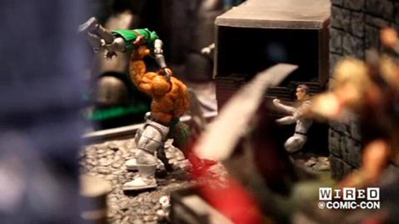 Battle of the Action Figures - Who Will Win?