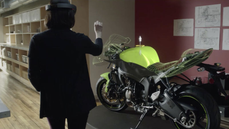Microsoft's Project HoloLens