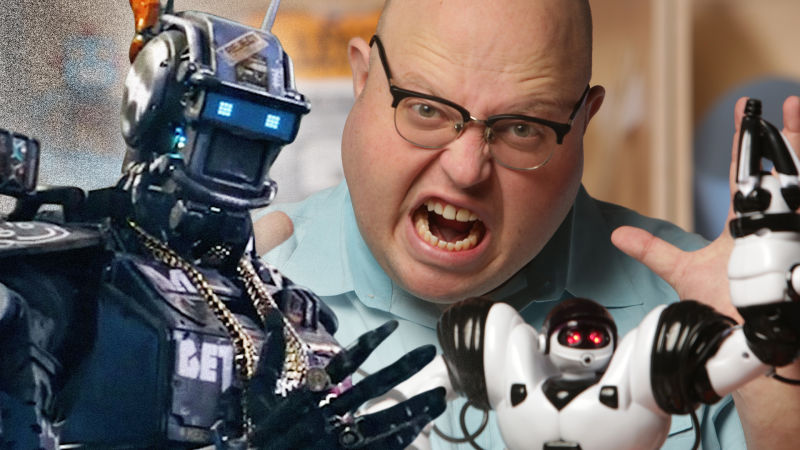 Chappie & the Taxonomy of Movie Robots