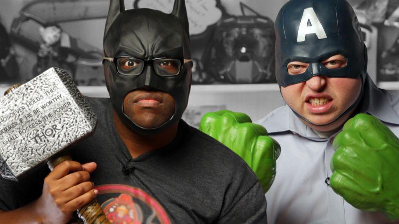 Marvel vs DC: Who Will Ruin Superhero Movies? Starring Black Nerd Comedy