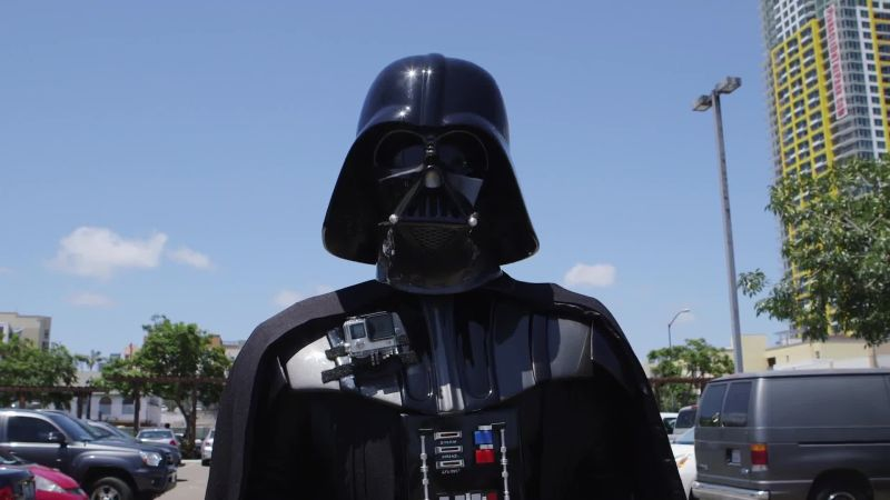 Behind the Mask: Darth Vader at Comic Con