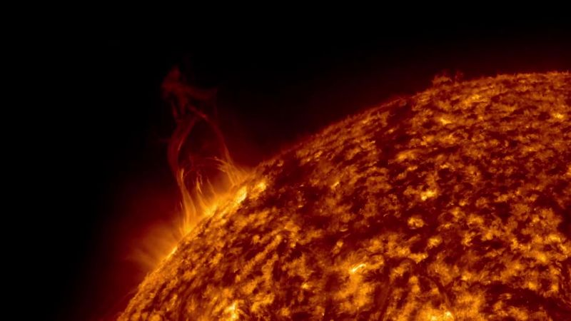 Watch the Sun Erupt in a Symphony of Solar Storms