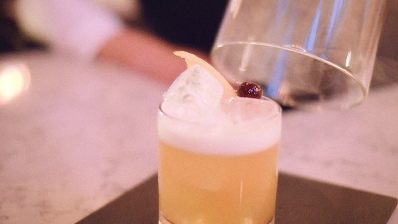 The Smoked Webb Cocktail at The Adamson in Saint Andrews