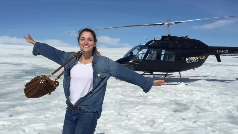 A Helicopter Tour of Iceland with Sofía Sanchez de Betak