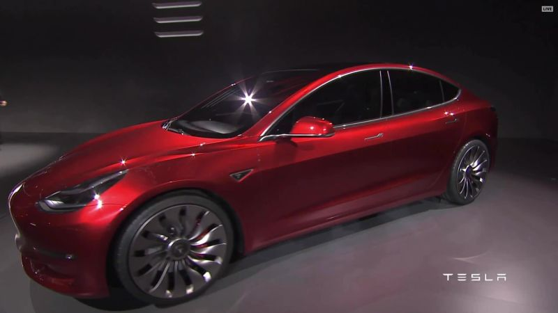 Meet the Model 3, Tesla's Most Important Car