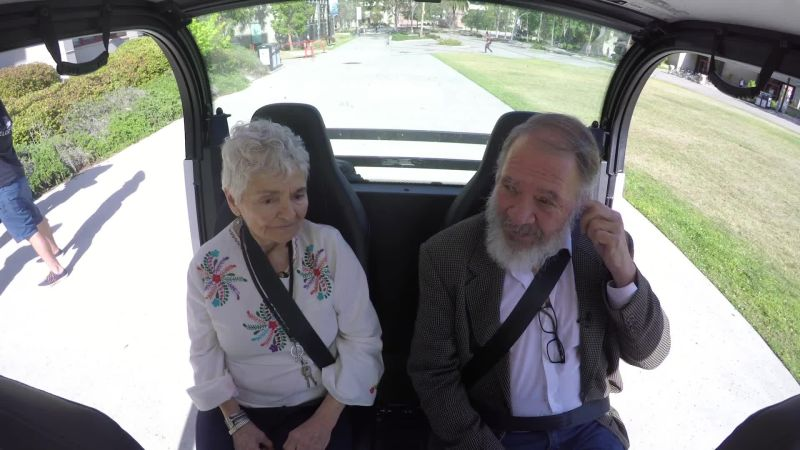 Seniors React to Driverless Cars