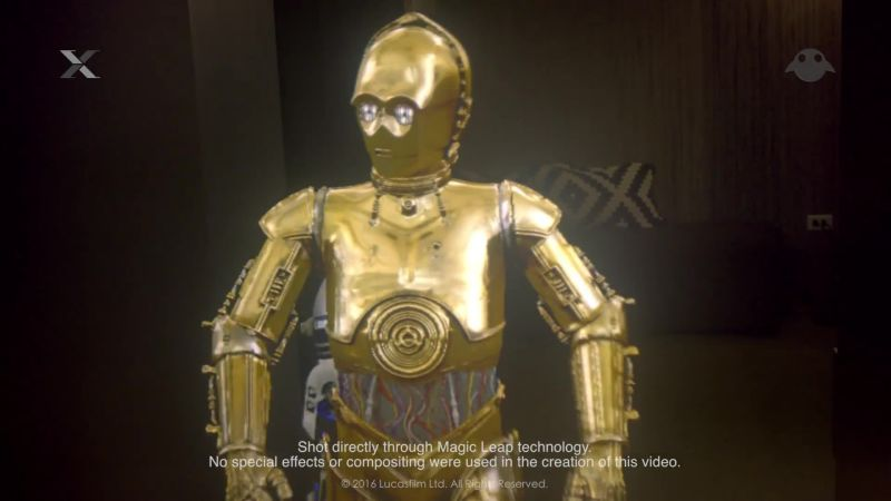 Magic Leap's Next Move? Bringing C-3PO to Your Living Room