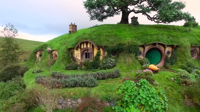 Visiting The Shire...By Drone