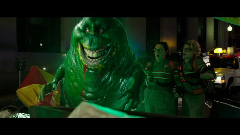 Here's the Untold Backstory of the Iconic Slimer From Ghostbusters