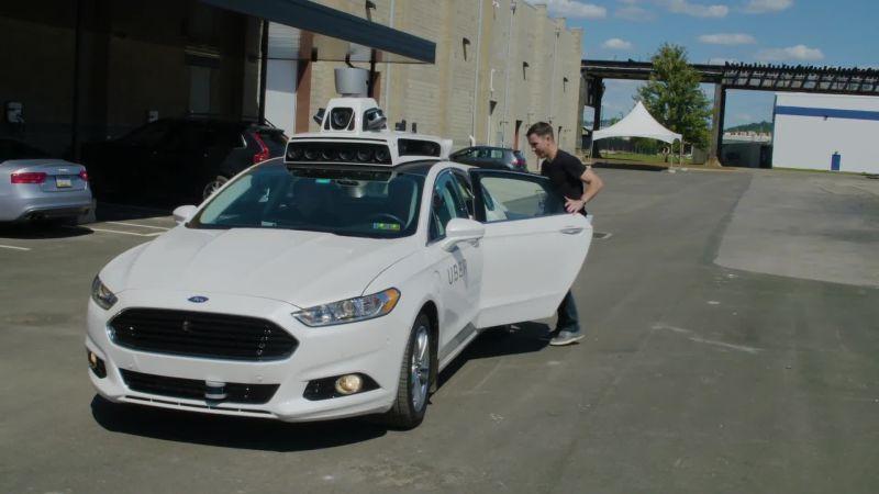 Climb Inside Uber's Self-Driving Car—Its Next Big Disruption