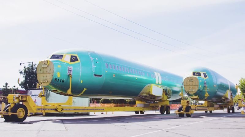How Boeing Builds a 737 in Just Nine Days