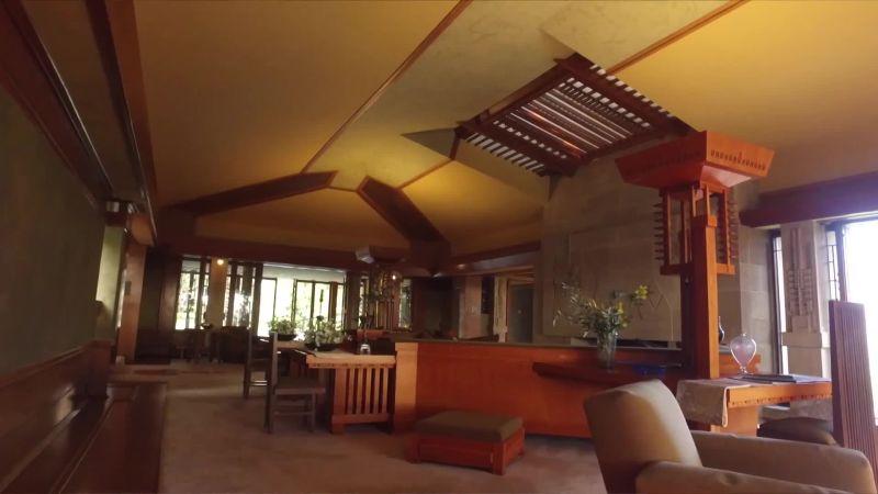 Inside Frank Lloyd Wright's Hollyhock House