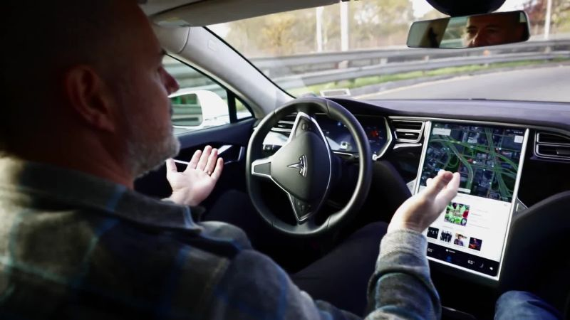 Driving New York in a Tesla Model S: The Future of Autonomous Cars