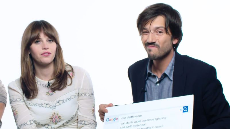 "The Cast of ""Rogue One"" Answers the Web's Most Searched Questions"