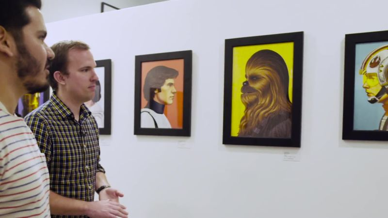 Star Wars Fans Wait for Days to See This Bonkers SXSW Poster Exhibit