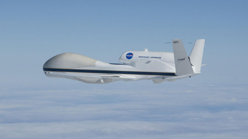 This NASA Drone Flies Over Hurricanes For Better Weather Forecasts