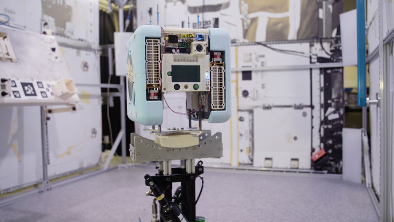 Meet the Cute Little Robot That'll Soon Float Around with Astronauts