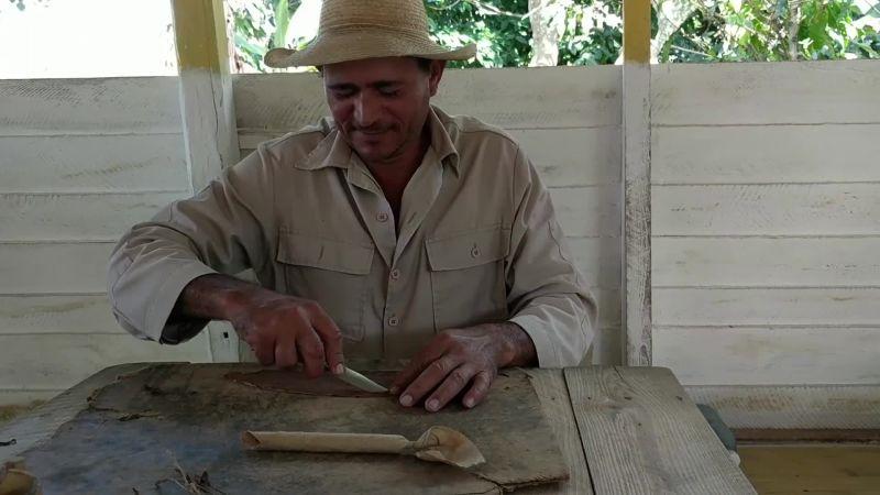 How to Roll a Cuban Cigar