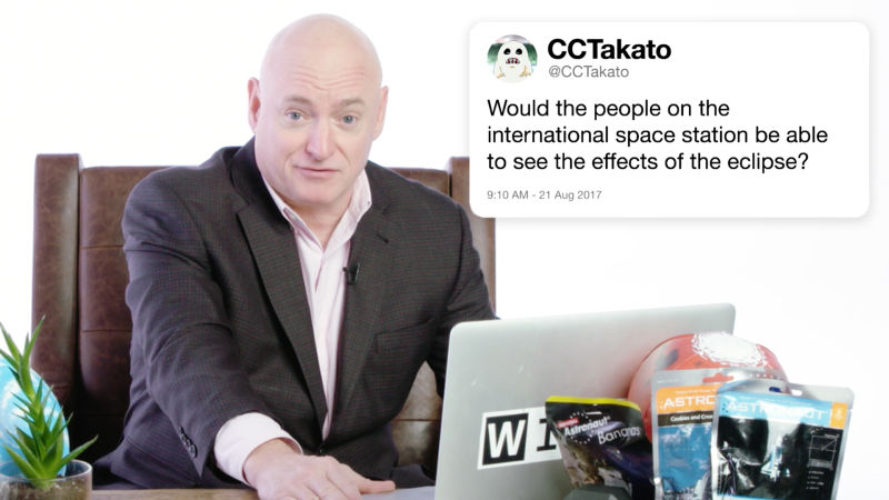 Scott Kelly Answers Astronaut Questions From Twitter
