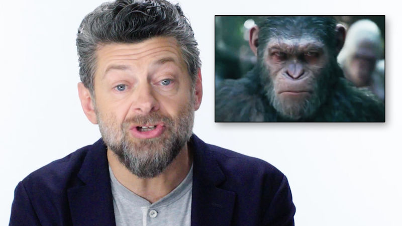 Andy Serkis Breaks Down His Motion Capture Performances