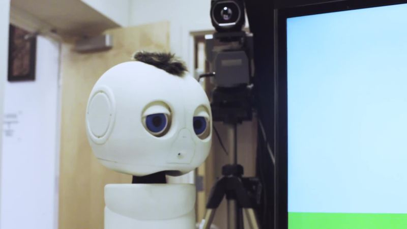 The Adorable Robot That's Helping Deaf Children Communicate