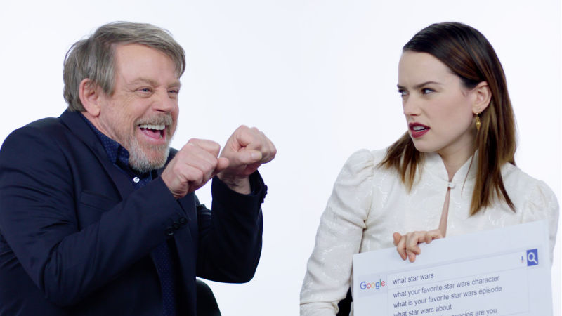 The Last Jedi Cast Answer the Web's Most Searched Questions