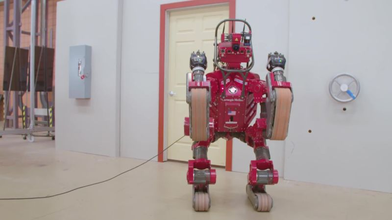 Chimp, the Vaguely Humanoid Robot
