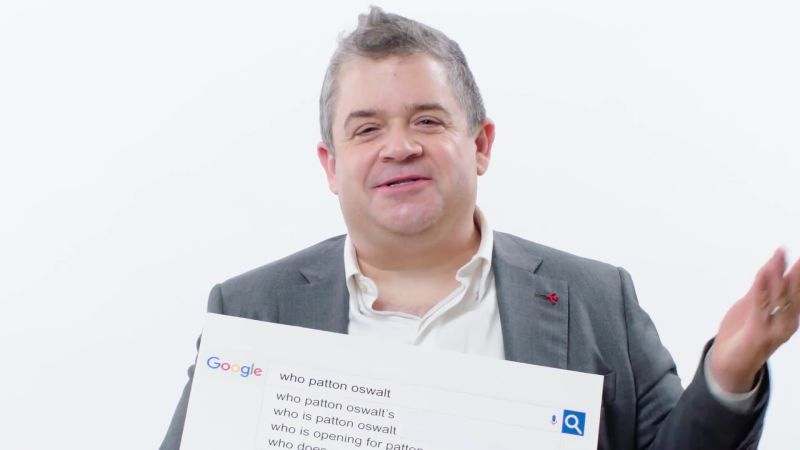 Patton Oswalt Answers the Web's Most Searched Questions