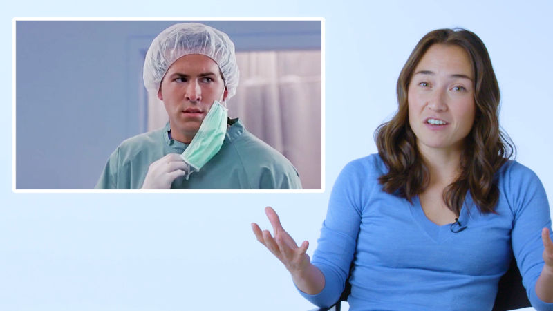 Surgical Resident Breaks Down Medical Scenes From Film & TV