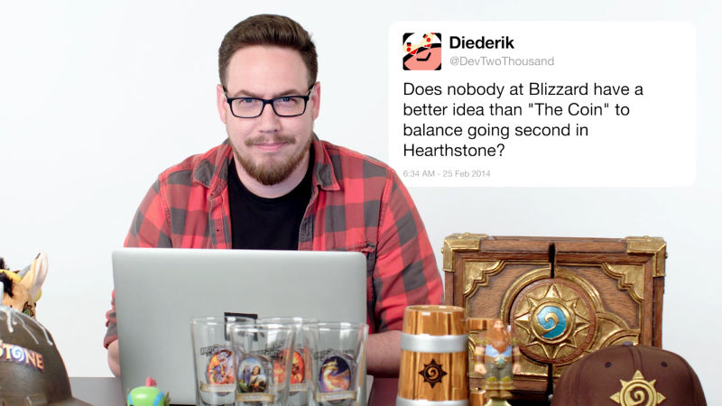 Blizzard's Ben Brode Answers Hearthstone Questions From Twitter