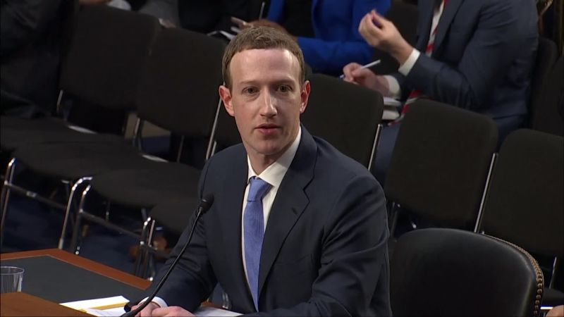 Mark Zuckerberg Senate Testimony Highlights