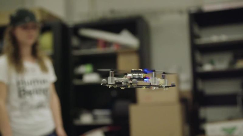 To Make Better Robots, You Gotta Crash Tiny Drones Into People First