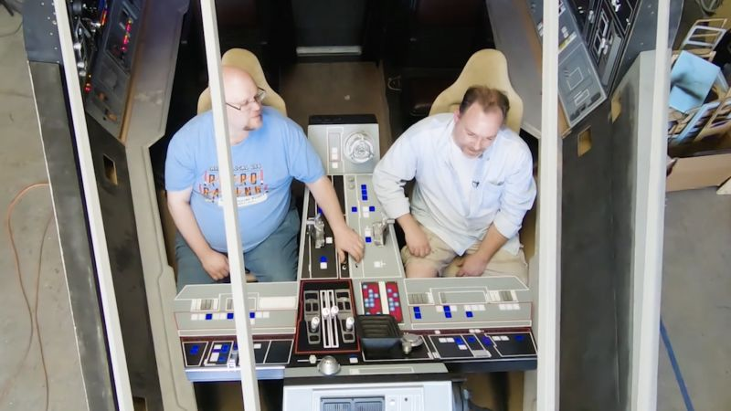 These Star Wars Fans Are Building a Full-Size Millennium Falcon Cockpit